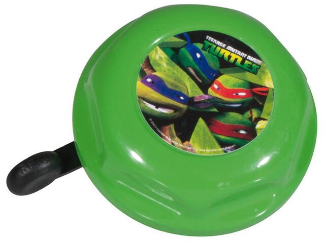 Bike Fashion Turtles - Sonnette Enfant - Ø 55 mm vert